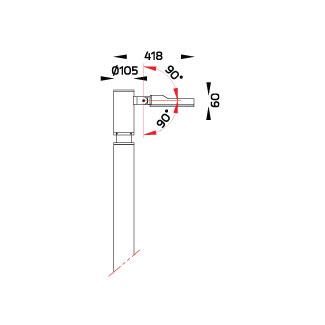ATHLON Area Light / Single Sided