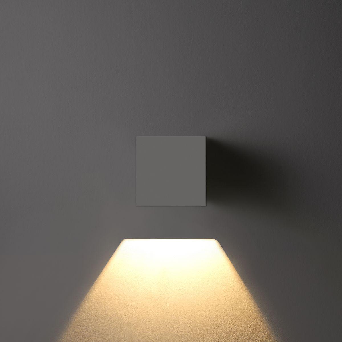 Mini DADOS Square 1 Wall Down Light