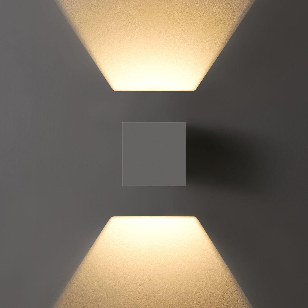 Mini DADOS Square 2 Wall Up/Down Light